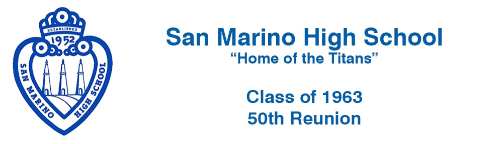 San Marino High School – Class of 1963